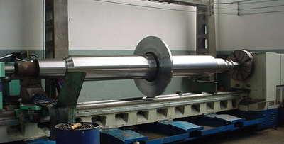 fabricação de eixo