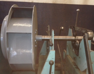 balanceamento industrial do exaustor
