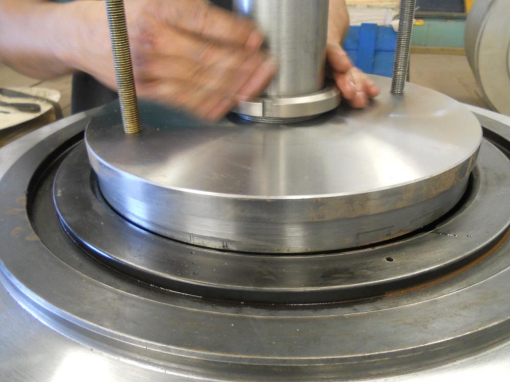 montagem do dispositivo de balanceamento