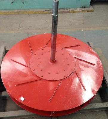 rotor após pintura