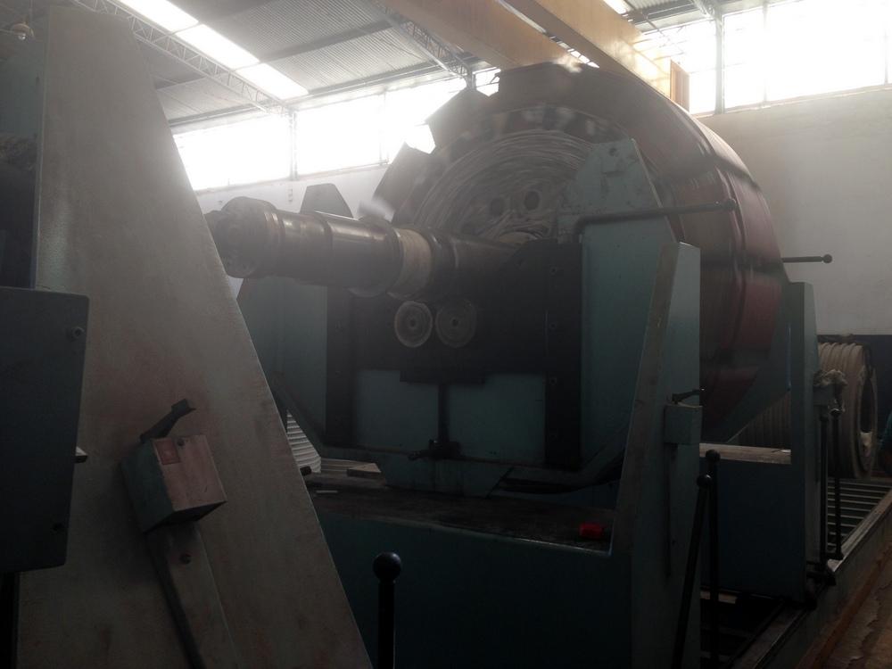 gerador sendo balanceado conforme NORMA ISO 1940