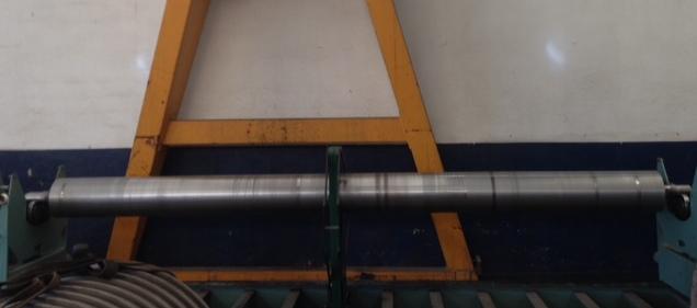 cilindro sendo balanceado