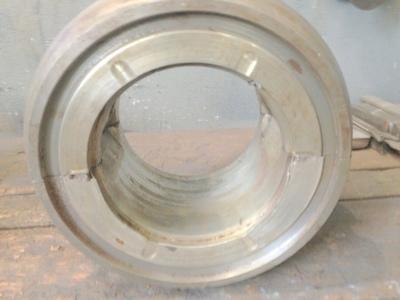 substituição do metal patente e retífica do mancal
