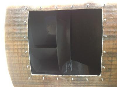janela de inspeção para trabalho