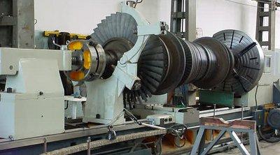 usinagem em turbina de usina de açucar