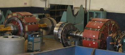 gerador de energia hidreletrica balanceamento