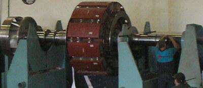 balanceamento dois planos gerador de usina