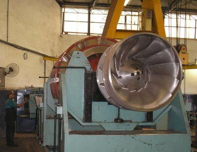 balanceamento industrial gerador hidrelétrica