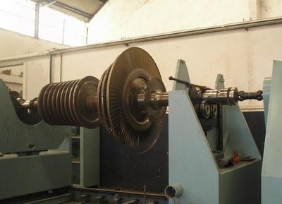 balanceamento turbina vapor