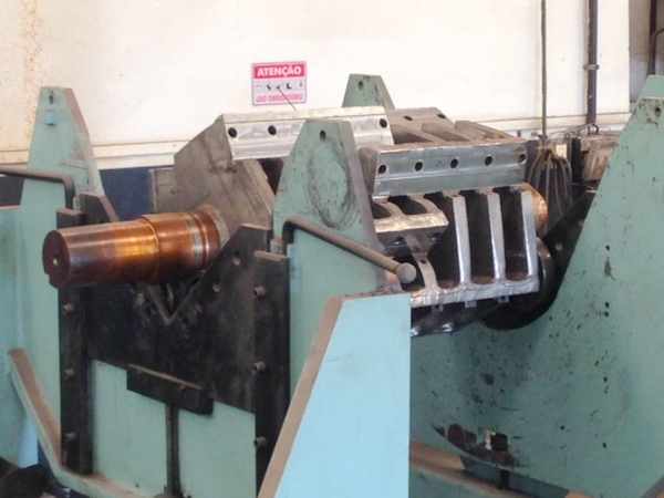 balanceamento industrial em moinho