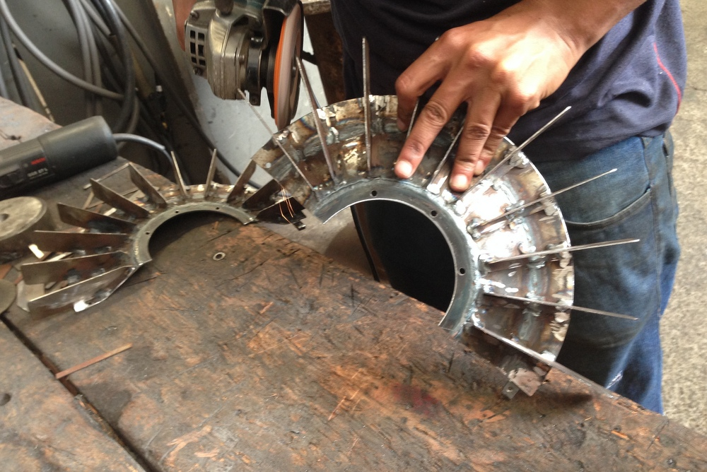 rebarbação das peças