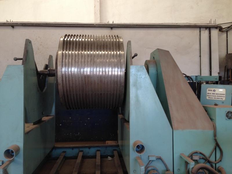 balanceamento dinãmico industrial de cesto de açúcar