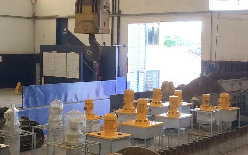 Reforma em recirculadores de forno de têmpera