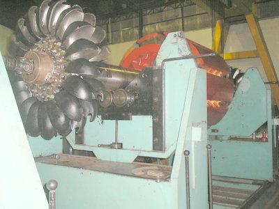 balanceamento dinamico gerador com turbina hidrelétrica