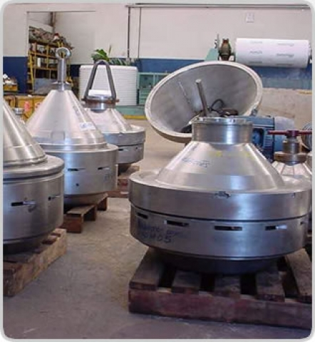 rotor de separadora de fermento
