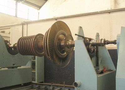 balanceamento de turbina
